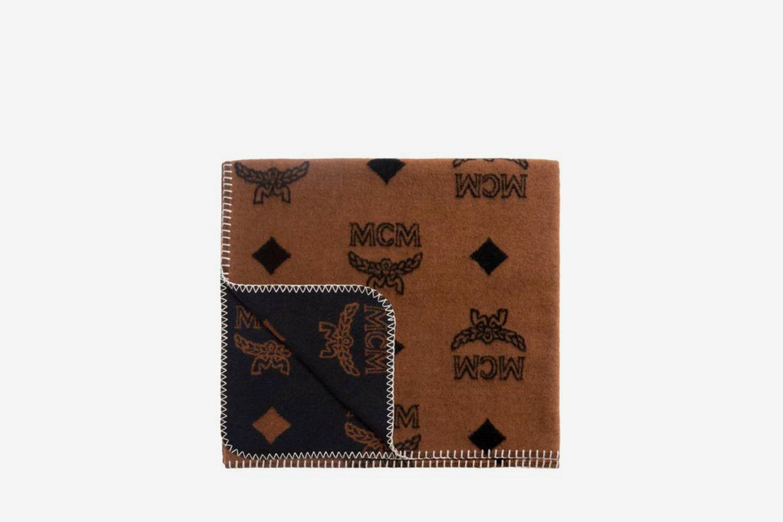 Woolrich x MCM Monogram Wool Blanket