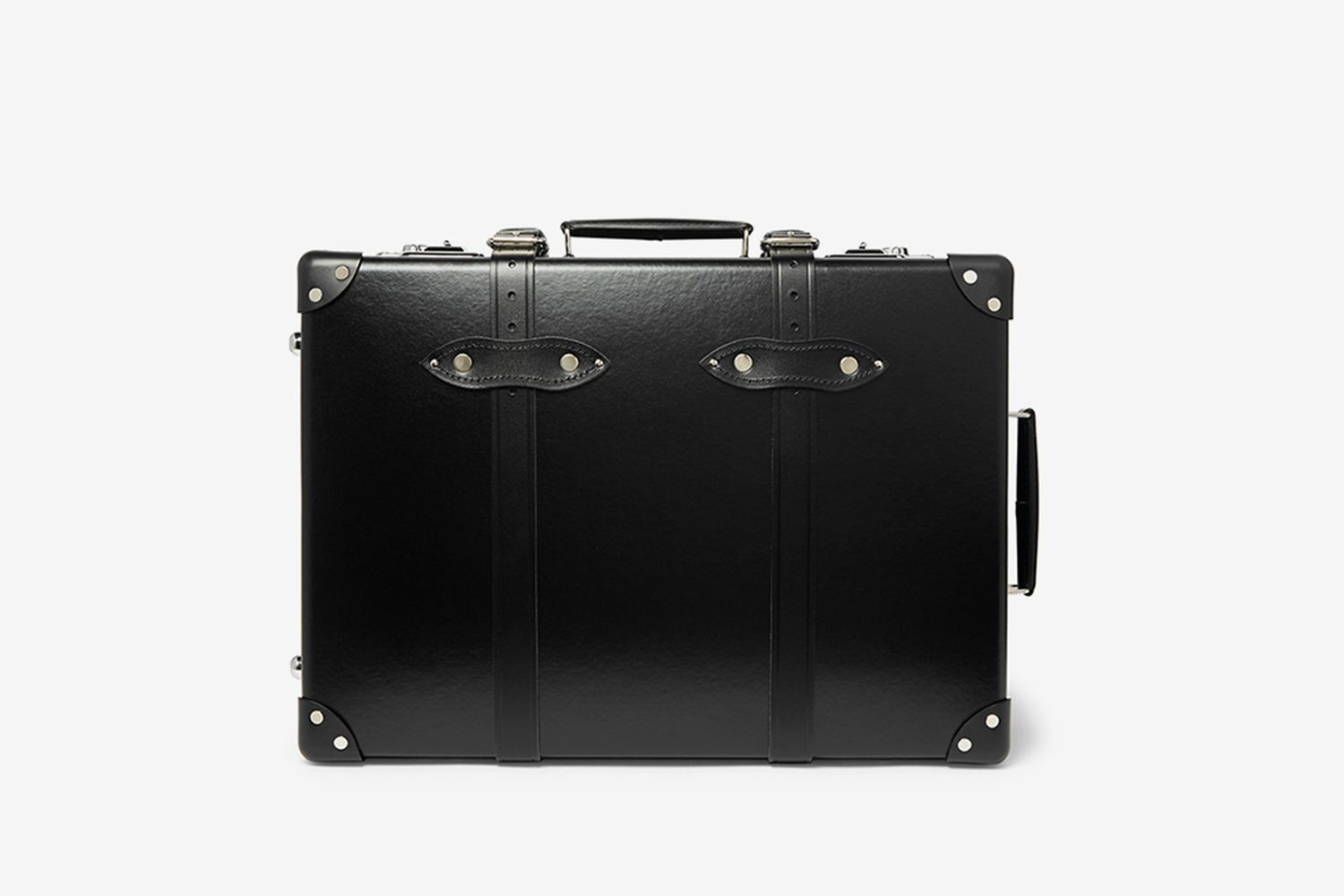 """20"""" Leather-Trimmed Carry-On Suitcase"""