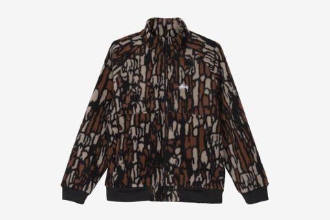 Tree Bark Fleece Jacket