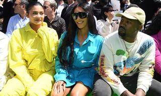 61710459e7cf Virgil Abloh   Kanye West Share Emotional Hug at PFW Louis Vuitton ...