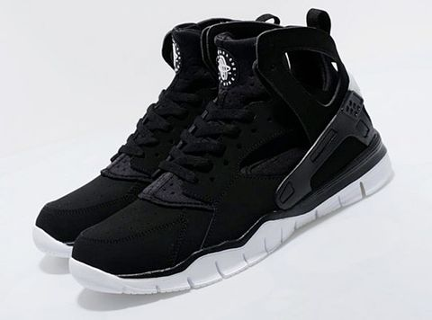 great fit 68dc2 4c0ab The Nike Huarache Free has been a welcome hybrid in the Nike lineup for 2012.  Taking that shoe one step further we arrive at the Nike Huarache Free ...