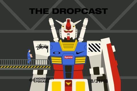 The Dropcast main template drake