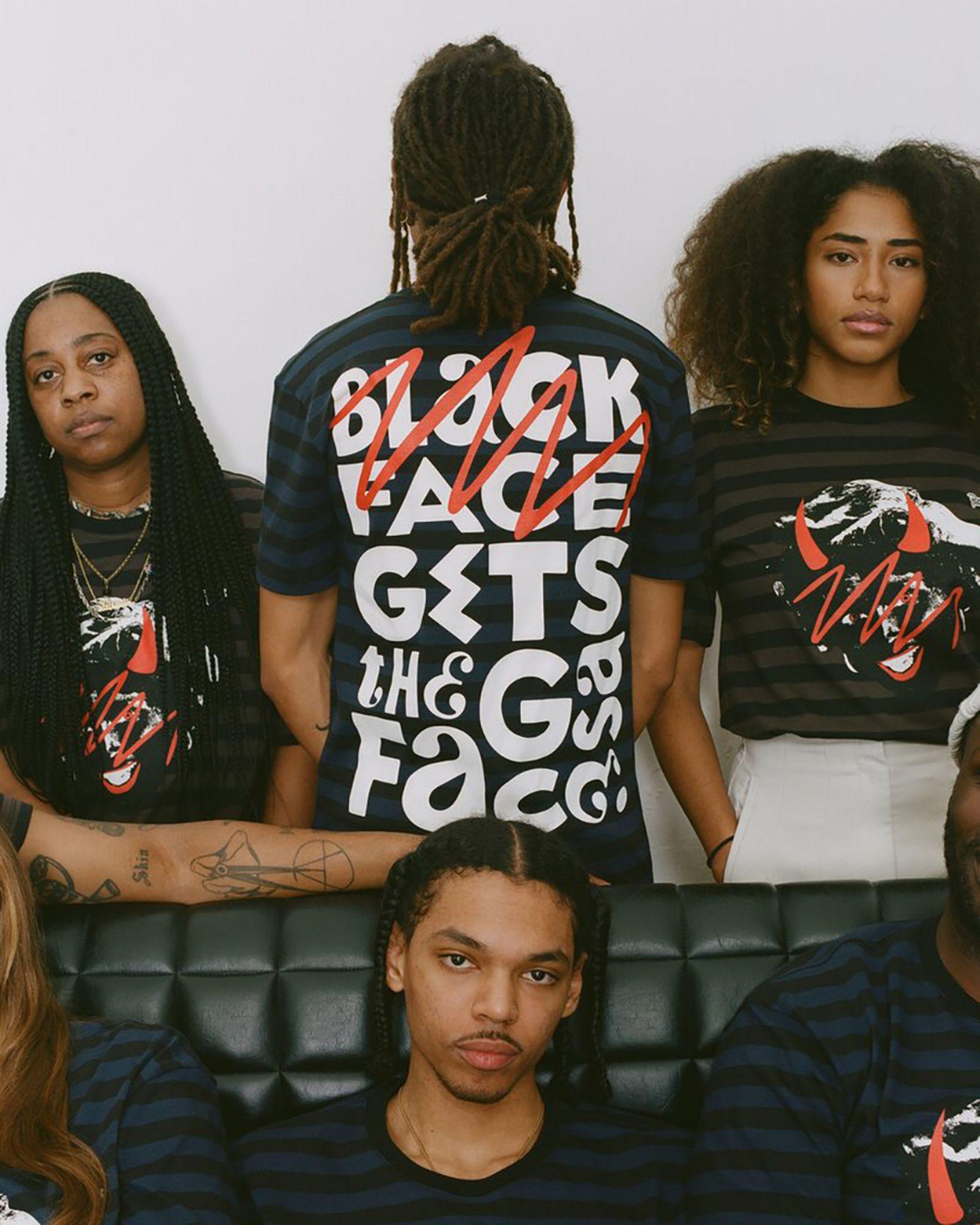 Patta x Piet Parra Blackface Gets The Gas Face T-shirt