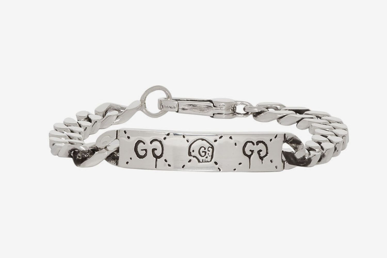 'Gucci Ghost' Chain Bracelet