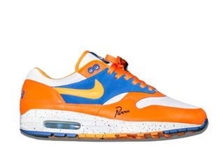 air max 1 orange and blue