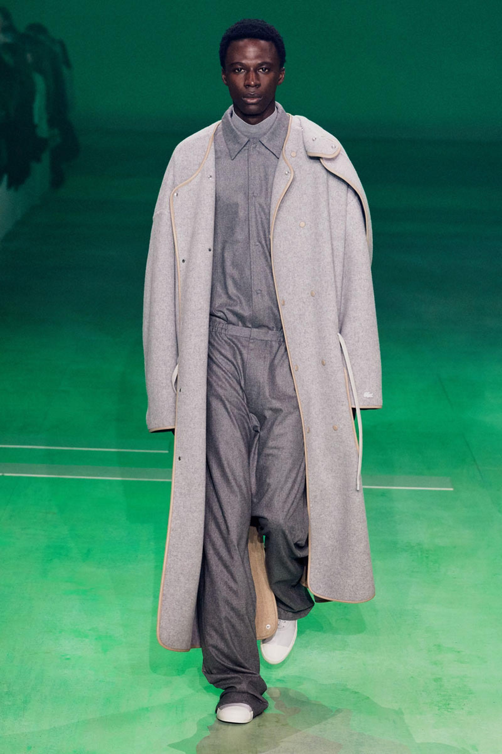 19lascoste fw19 paris fashion week Louise Trotter lacoste runway