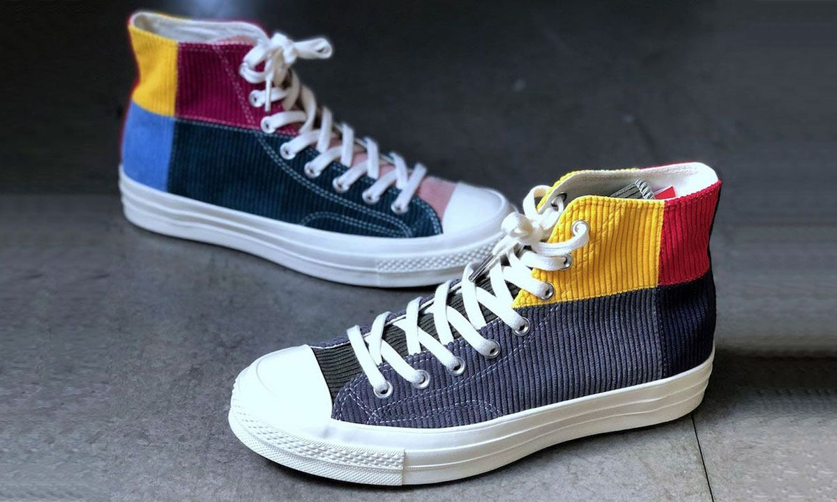 "Offspring Drapes the Converse Chuck 70 in ""Patchwork"" Corduroy"