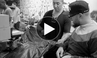 Watch Frank The Butcher Interview Rob Garcia & Curtains of En Noir