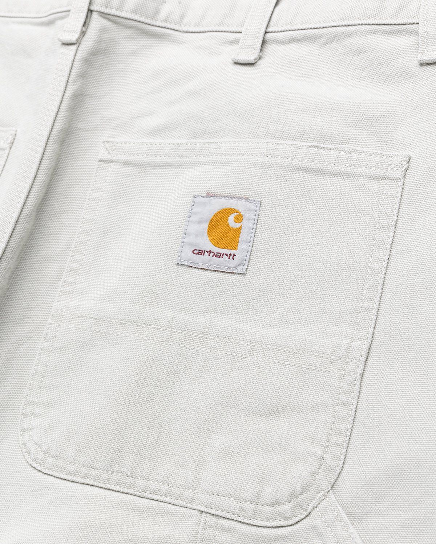 Carhartt WIP – Single Knee Pant Aged Canvas Grey - Image 3