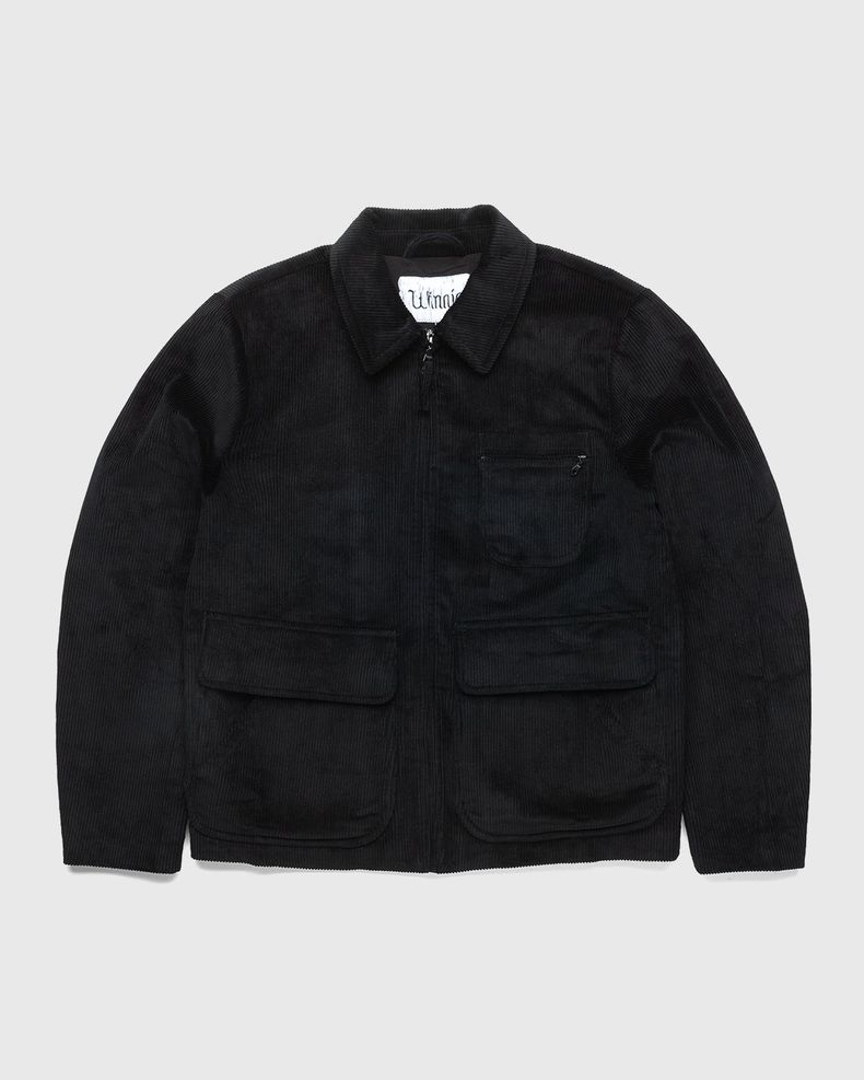 Winnie New York - Corduroy Hunting Jacket Black