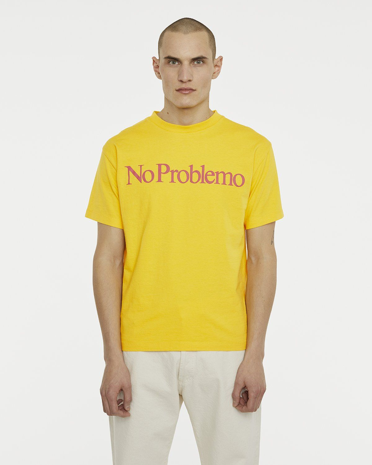 Aries - No Problemo Tee Yellow - Image 3