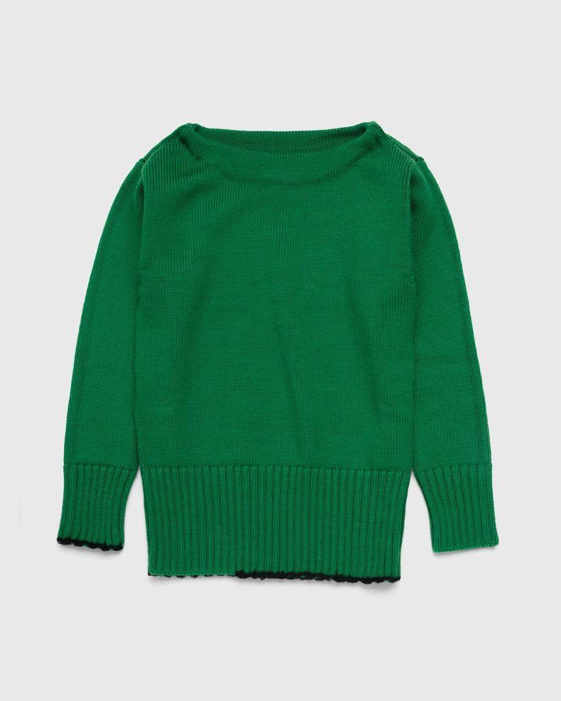 Maison Margiela – Summer Camp Sweater Green