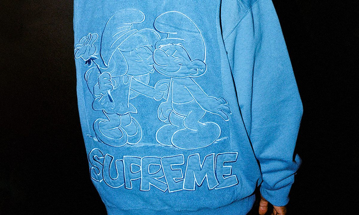 Supreme Is Dropping a 'Smurfs' Collab This Week