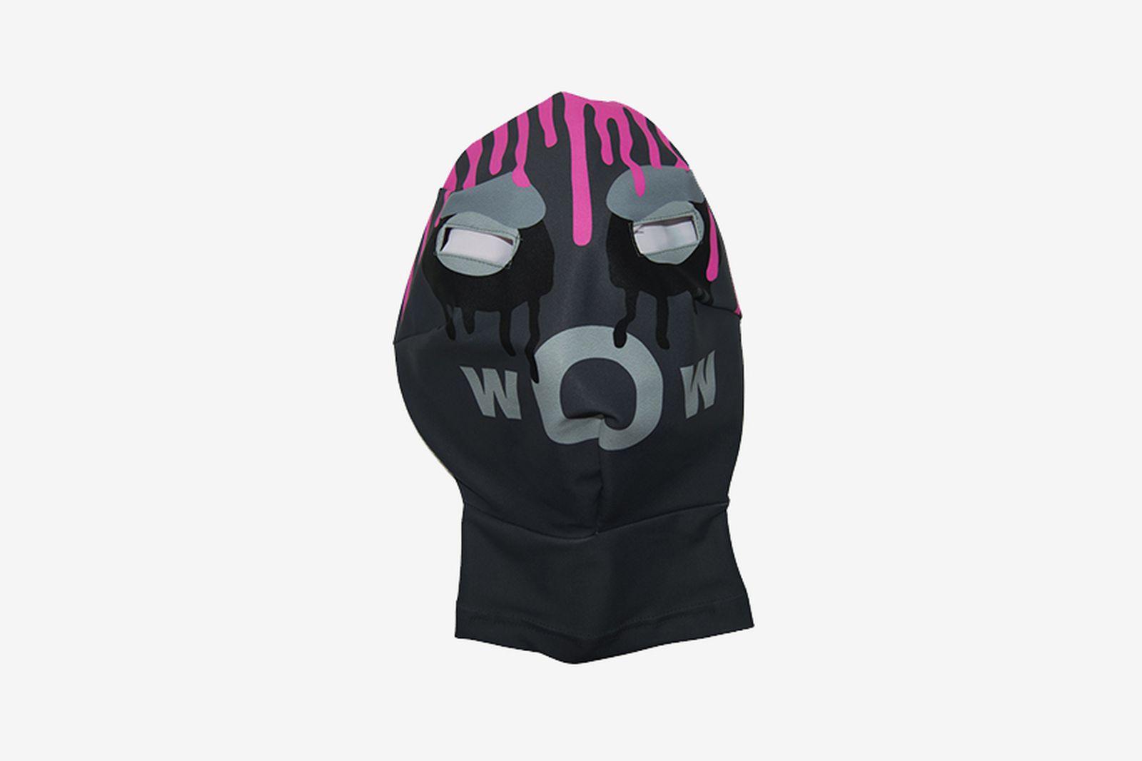 bernahrd willhem mask grey pink grey Kiko Kostadinov Loewe Rick Owens