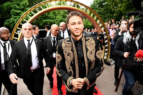 05039650 Neymar's New Balmain Jacket Is Peak Neymar