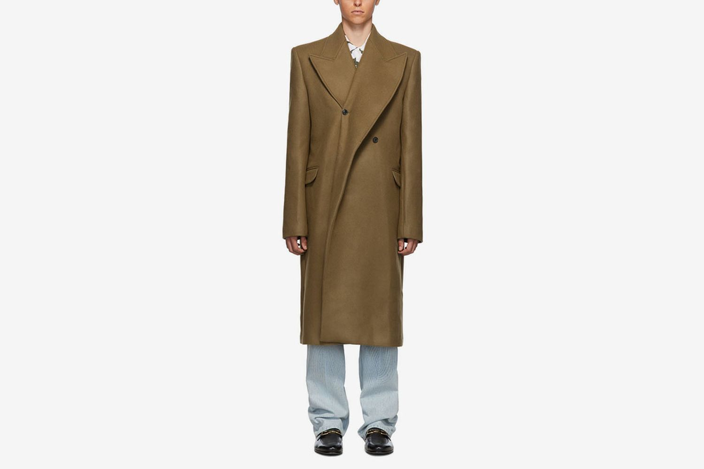 Double Lapel Coat
