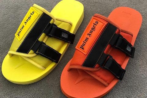 ef1271a73c Palm Angels Debuts Bold SUICOKE KAW Sandals