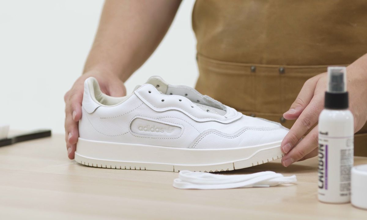 How To Clean Leather Suede Sneakers