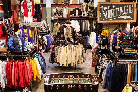 best vintage stores london AMEX american express platinum fashion