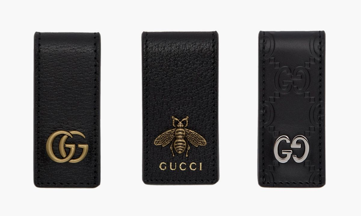 Gucci's $170 Leather Money Clips Are a Sleek Wallet Alternative