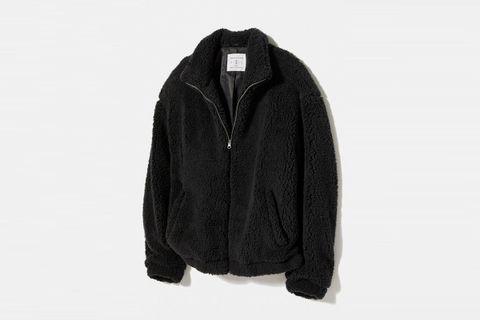 Super Cozy Sherpa Bomber Jacket
