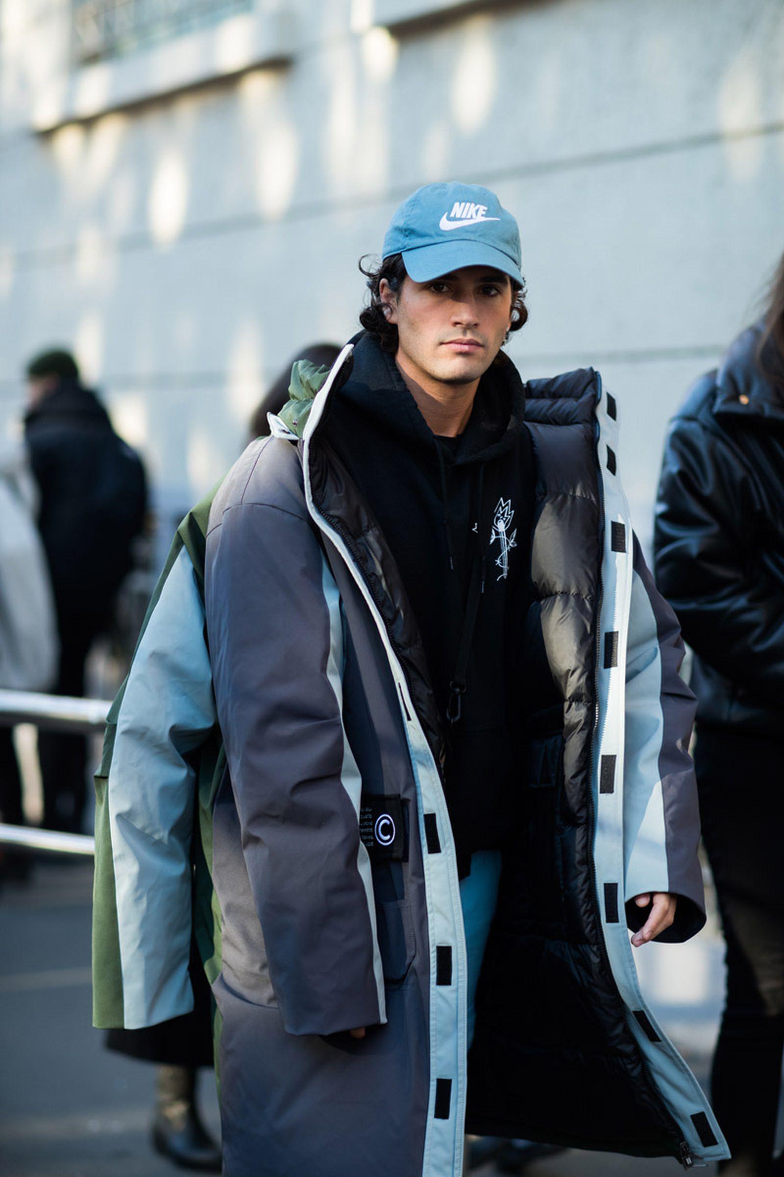 13milan fashion week street style 032c HBA x Colmar Supreme