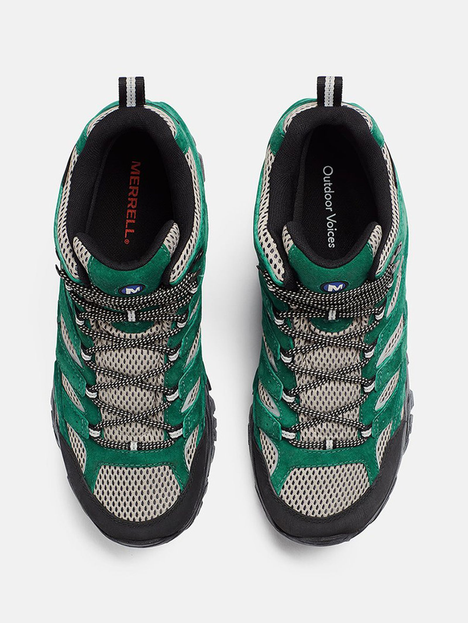 Outdoor Voices x Merrell Moab 2 Mid green