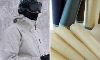 Goldwin Reveals Sustainable Synthetic Spider Silk Ski Jacket