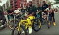 "A$AP Ferg Rides His Redline Bike Around NYC in New ""Floor Seats"" Video"