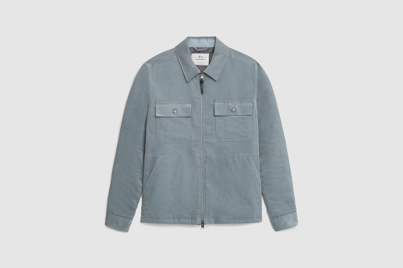 Stag Padded Corduroy Overshirt