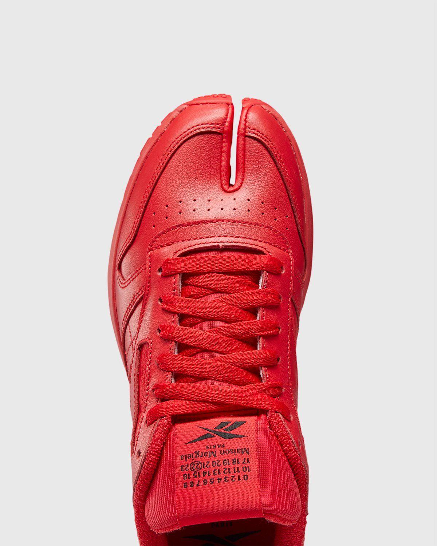 Maison Margiela x Reebok — Classic Leather Tabi Red - Image 6