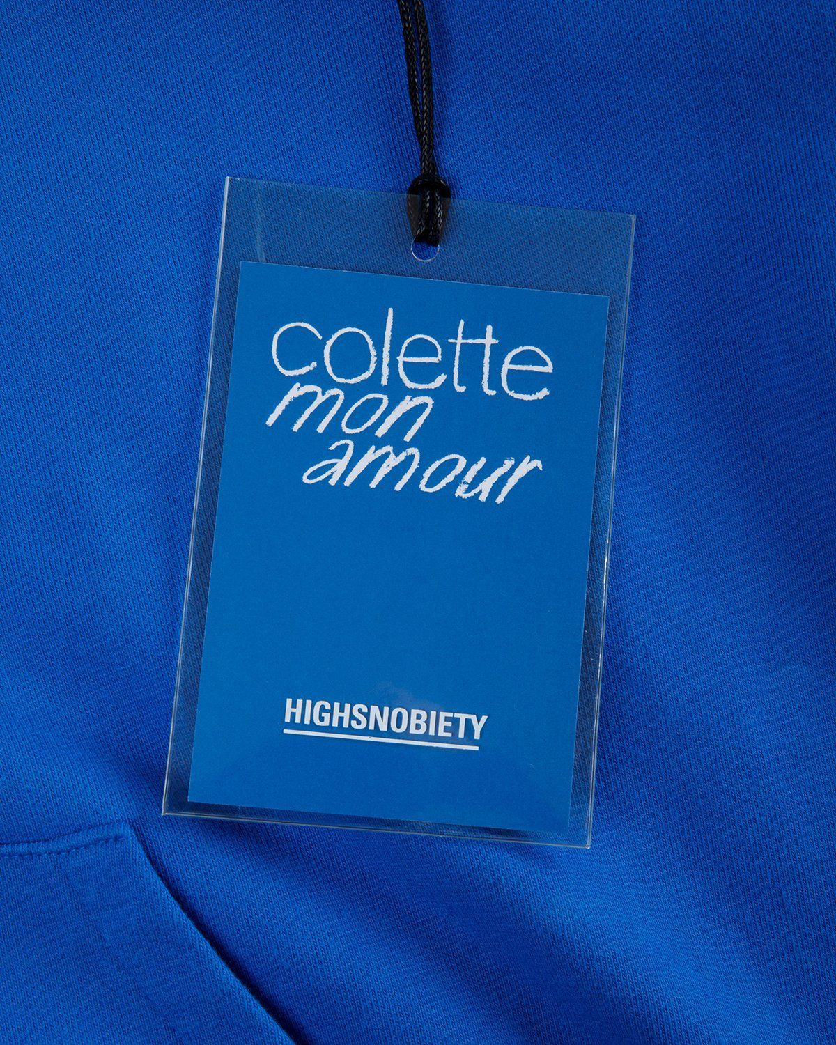 Colette Mon Amour — Water Bar Hoodie Blue - Image 8