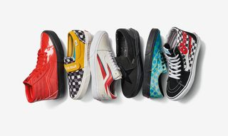 Where to Buy Vans' Glammed-Up David Bowie Sneakers Today