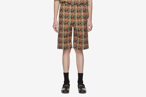G Print Shorts