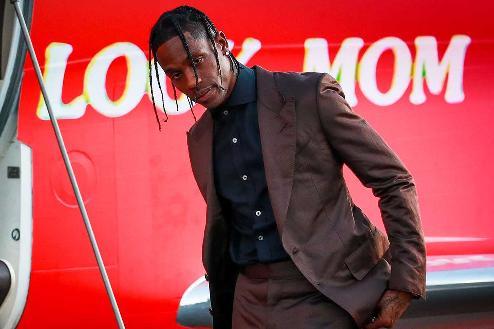 travis scott drops merch announces new music Look Mom I Can Fly