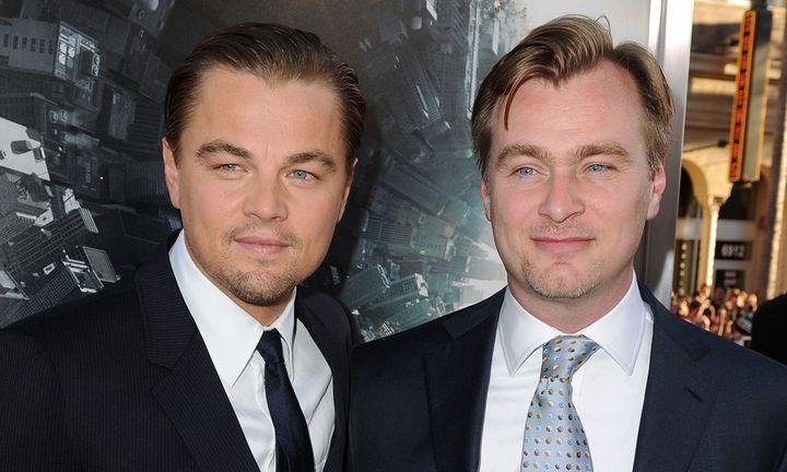 Leonardo DiCaprio Christopher Nolan