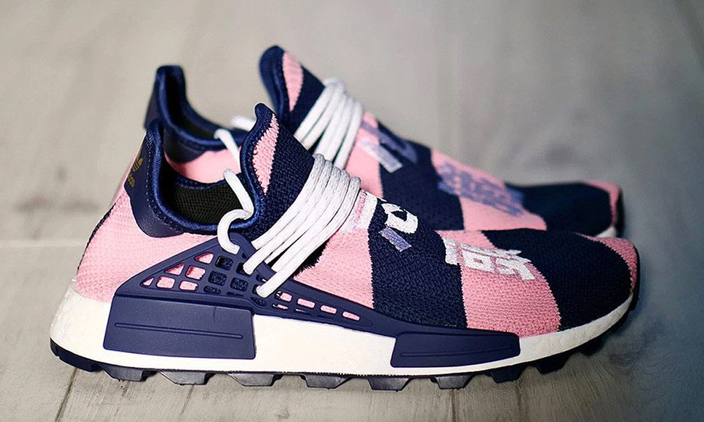 7aafd944a This Pharrell Williams NMD Hu Is a Billionaire Boys Club-Exclusive