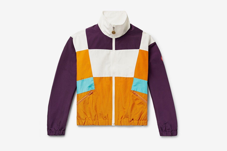 Colour-Block Nylon Jacket