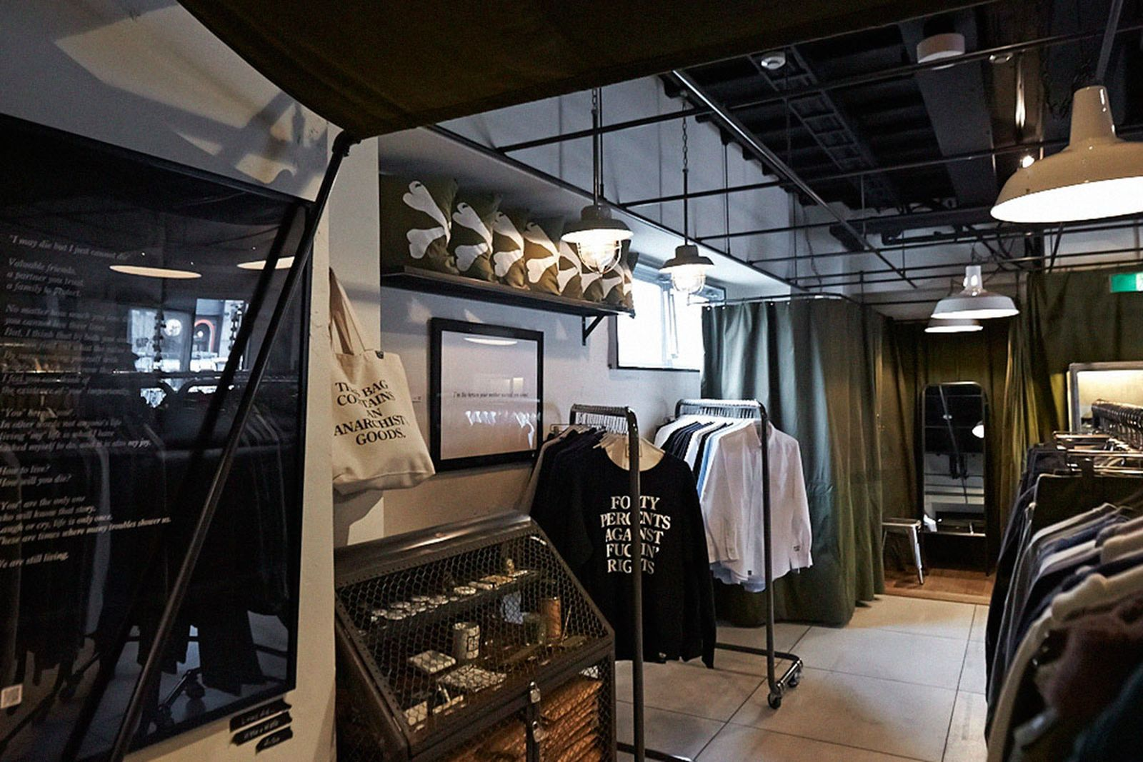 tokyo shopping guide GIP Store prov the real mccoys have a good time