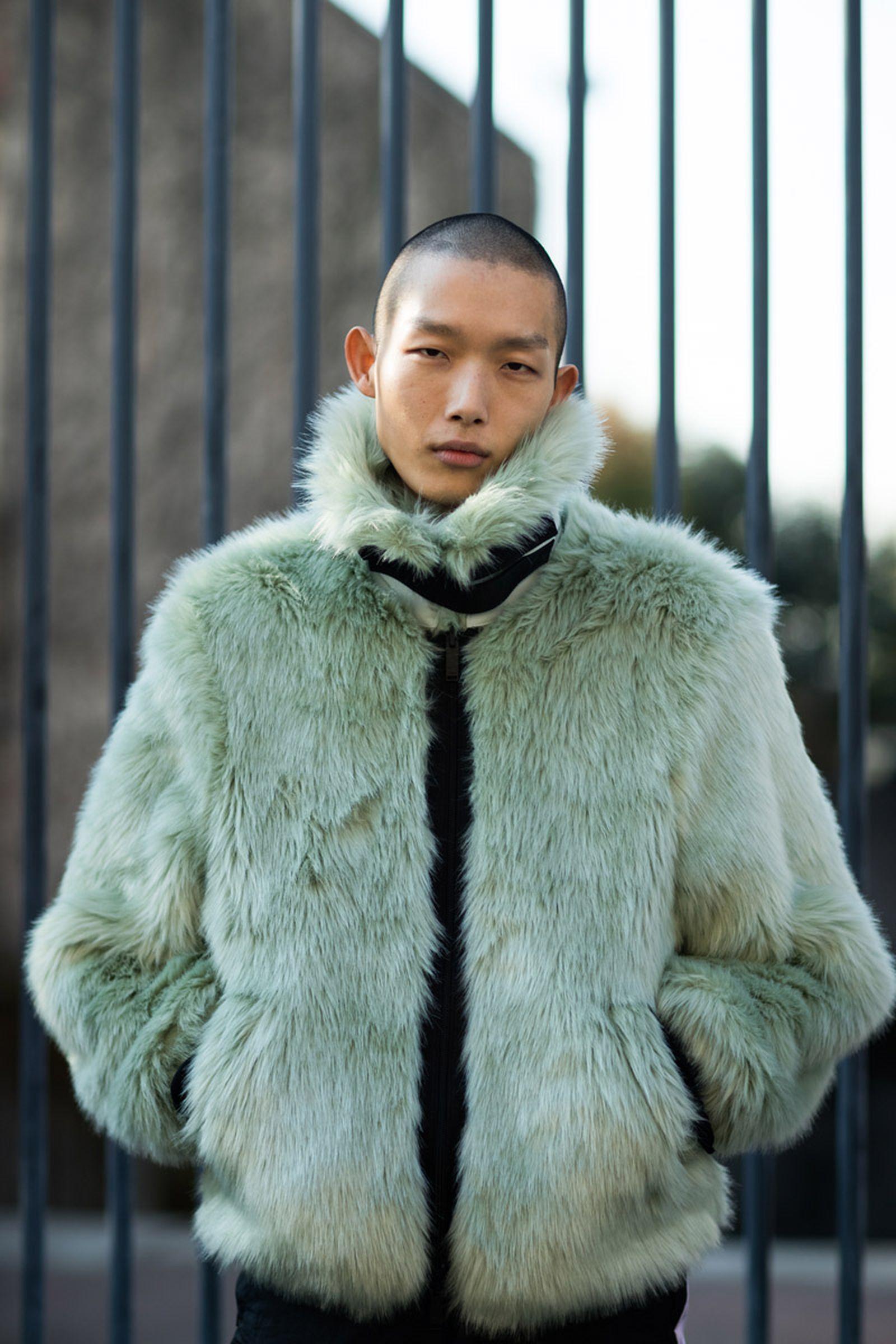 1milan fashion week street style 032c HBA x Colmar Supreme