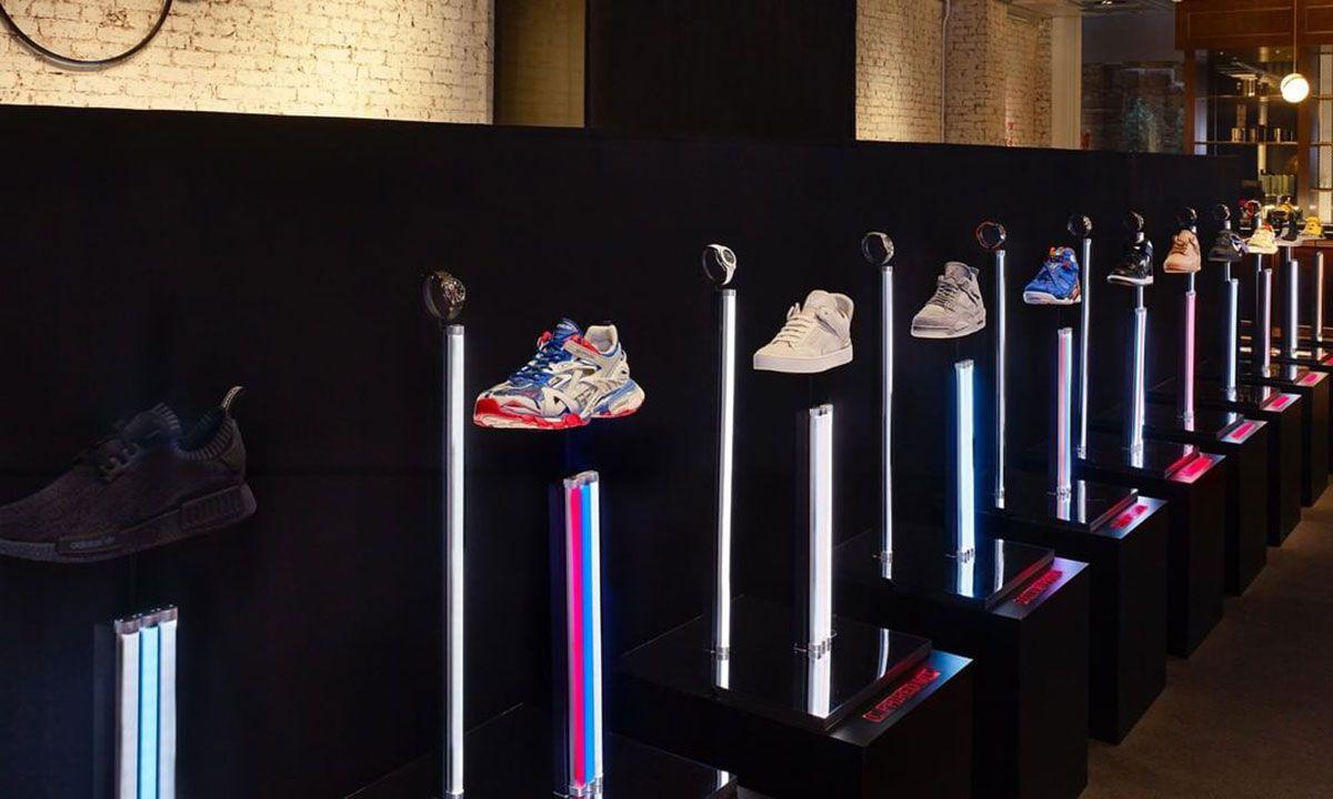 This Stadium Goods & Watches of Switzerland Exhibit Pairs Rare Sneakers & Watches
