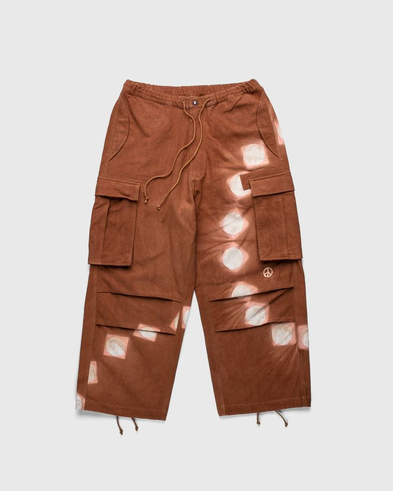 Story mfg. — Peace Pants Bark Pink/Lunar Clamp