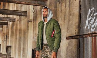 Peep Alpha Industries' FW18 Winter Outwear Lineup