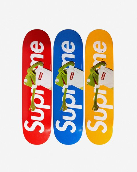 26c37780 The 10 Most Iconic Supreme Skateboard Decks
