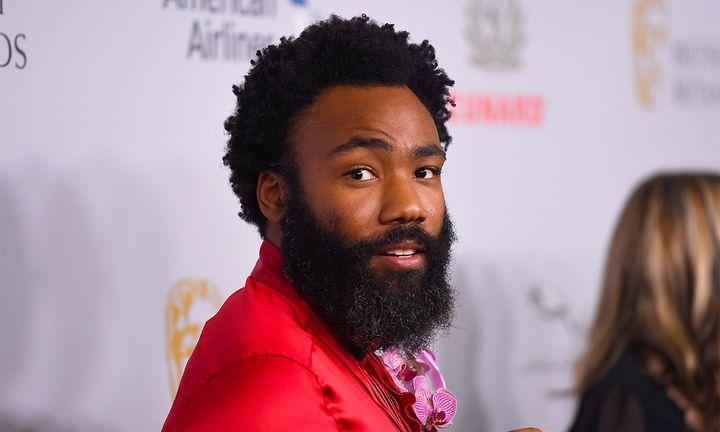 Donald Glover attends the 2019 British Academy Britannia Awards presented