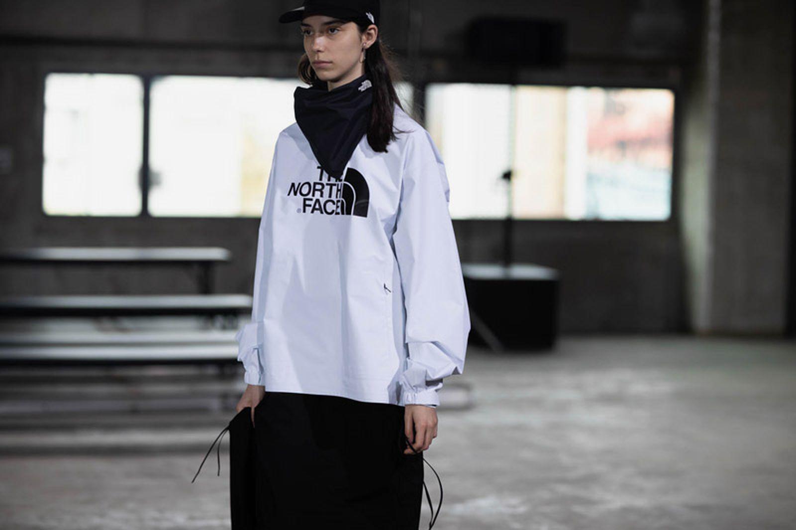hyke north face tokyo fashion week The North Face