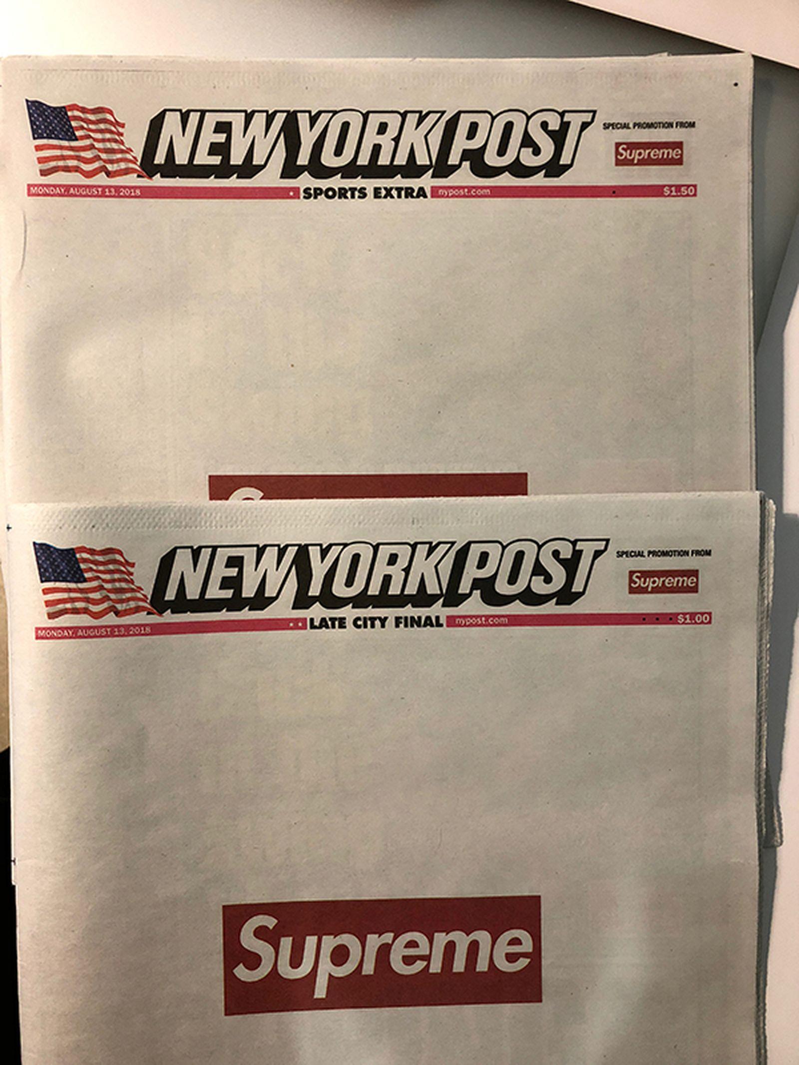 supreme ny post The NY Post
