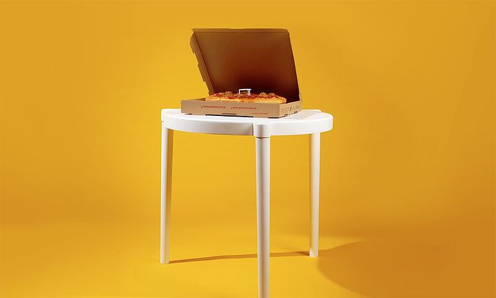 IKEA Pizza Hut table