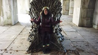 game of thrones throne found hbo