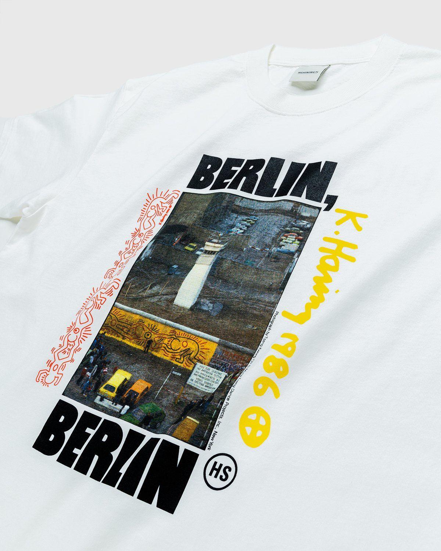 Highsnobiety x Keith Haring – Berlin T-Shirt White - Image 3